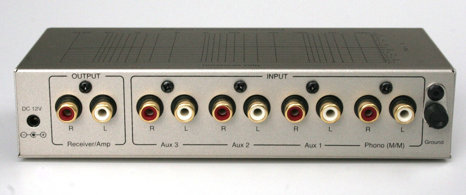 TC-740A   Mike//Line//Phono Preamp w// PREMIUM AC Adaptor