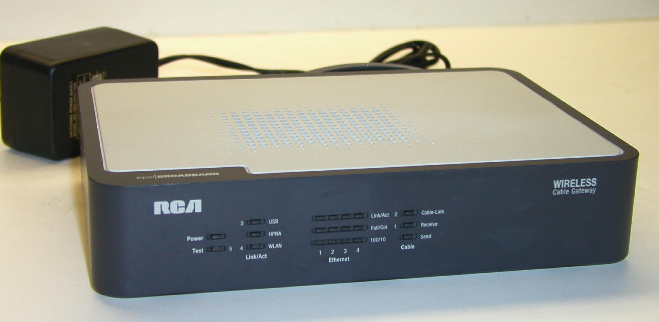 broadband rca broadband modem RCA DCM425 Modem Manual RCA DCM425 Modem Support